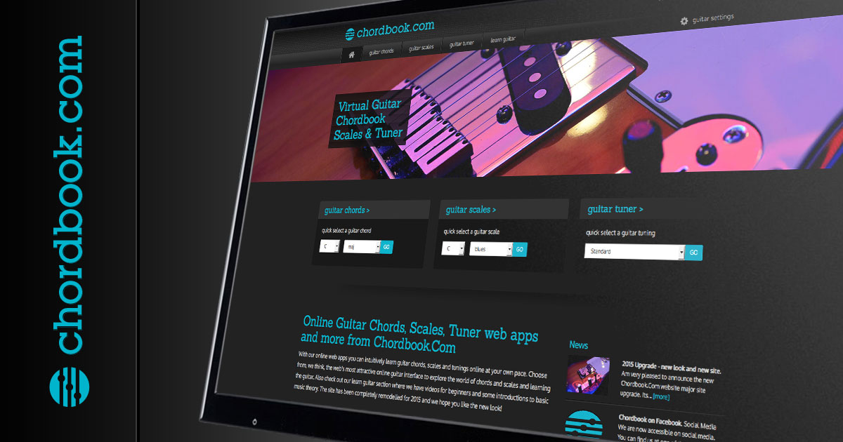 Learn Guitar Chords Scales And Tuning With Chordbook