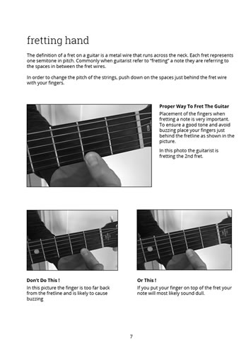 Learn To Play Guitar Now - Page 7 Preview
